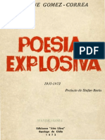 Enrique Gomez Correa - Poesía explosiva