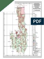 Peta Rencana Blok Pemanfaatan Ruang Banguntapan Bantul
