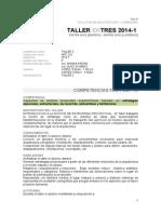 Taller3 Horario302 Final 2014 1l