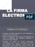 Ppt Firma Electronica Evaristo Garcia