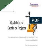 2 Gerenciamento Da Qualidade Do Projeto - Planejamento