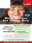 How to Vote for Steph Key