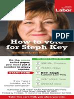 How to Vote for Steph Key - Ashford