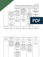 revised timeline draft - week 1