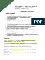 Programa Farmaceutico UFRRJ