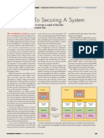 The Keys to Securing a System - By Bill Wong