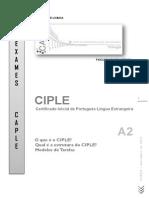 Modelo Exame CIPLE 2