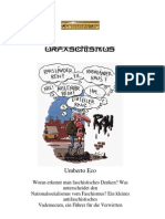 Eco, Umberto - Urfaschismus