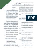 Decreto Legislativo N°  1068