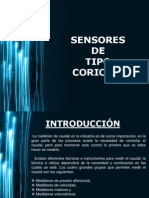 Sensores de Tipo Coriolis