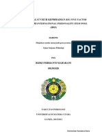 ADAPTASI ALAT UKUR KEPRIBADIAN BIG FIVE FACTOR MARKER DARI INTERNATIONAL PERSONALITY ITEM POOL (IPIP)