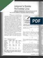 A Designer's Guide to Microstrip Line
