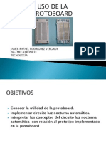 Uso Protoboard