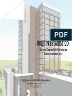 Boletin Estadistico 2012 Edicion Esp
