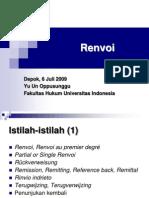 HPI - Renvoi