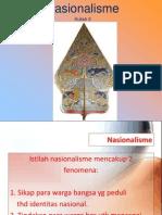 Kuliah 3 Nasionalisme