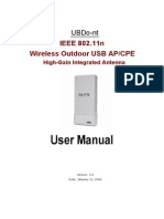 UBDo-Nt User Manual