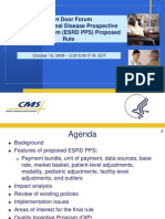 ESRD PPS Proposed Rule