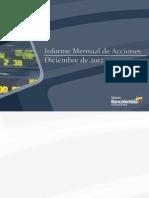 Informe Mensual Mercado Accionario