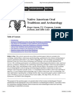 SAA Bulletin 14(2)_ Working Together--Native American Oral Traditions