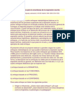 Daneil cassany___Enfoques didácticos para la enseñanza de la expresión escrita