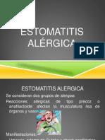 ESTOMATITIS ALERGICA