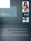 Health Information Related Laws