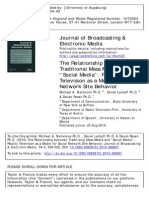 The Relationship Between Traditional Mass Media An
