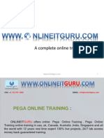 Pega Online Training | Pega Online Training In Hyderabad, USA ,Uk, India, Canada, Australia, Singapore.