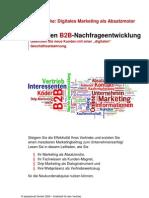 Teaser - Leitfaden B2B Nachfrageentwicklung