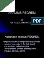 1.Analisis Regresi s2-Pbi 2013