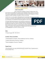 03 Program Details ASEAN YLC