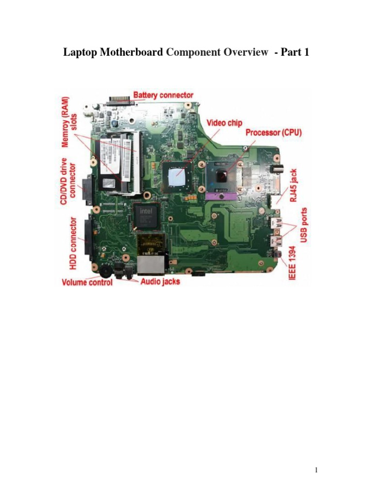 Laptop Motherboard Component Overview Parti Electrical Connector Multimeter Tests Checking Voltage And Short Circuits