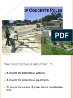 Testing of Concrete Poles