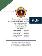 Tugas Sistem Informasi Eksekutif