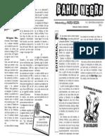 Bahía Negra Nº 1 Publicación Anarquista Argentina (2012)