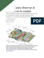 Manual Para Observar Al Humano en La Ciudad