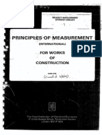Principles of Measurement International 1979 by RICS