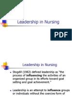nursing essays leadership in nursing transformational  leadership in nursing nursing administration ppt