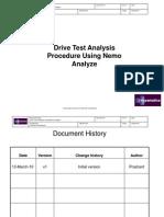 141357062 Drive Test Analysis Procedure