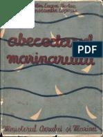 Abecedarul Marinarului (C.E.botez-C.copaciu; Imprimeria Nationala-Ministerul Aerului Si Marinei 1939)
