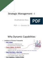 Session - 10 - Strategic Management - 1 - 2013 PGP