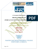 nhpcprojectonstoreaccounting-140131125321-phpapp01