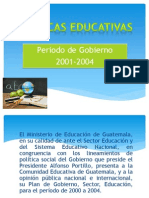 politicas educativas