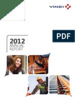2012 Vinci Annual Report