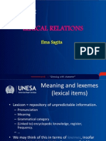 Ilma Lexical+Relations