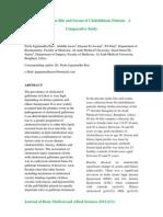1325810960Lipid Profile in Bile and Serum of Cholelithiasis Patients