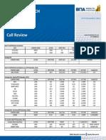 Call Review 27th November2012