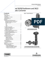 Pneumatic Positiioner Fisher