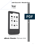 TrekStor eBook Reader Pyrus Mini Manual V1-20 IT 2012-11-09